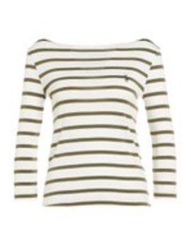 Striped Merc   Langarmshirt by Polo Ralph Lauren