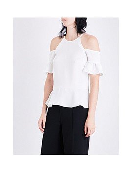 Adele Cold Shoulder Top by Whistles