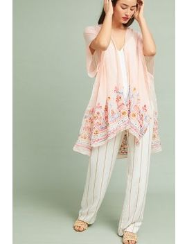 Meredith Embroidered Kimono by Anthropologie