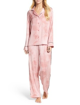 Washed Satin Pajamas by Dkny