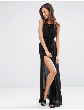 """<Font Style=""""Vertical Align: Inherit;""""><Font Style=""""Vertical Align: Inherit;"""">Akasa Beach Dress With Keyhole Detail</Font></Font> by  Akasa"""