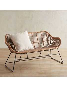 Haven Sand Settee by Pier1 Imports