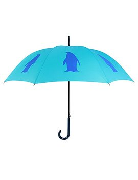 San Francisco Umbrella Co, Two Tone Blue Penguin Umbrella by The San Francisco Umbrella Company
