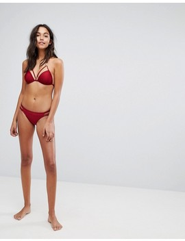 """<Font Style=""""Vertical Align: Inherit;""""><Font Style=""""Vertical Align: Inherit;"""">New Look   Bikini Top With Ornament</Font></Font> by  New Look"""
