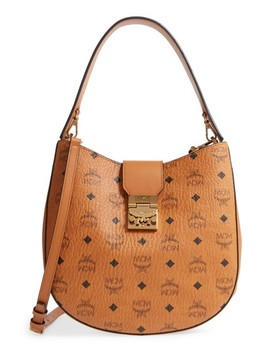 Patricia Visetos Coated Canvas Hobo by Mcm