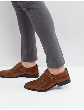 Call It Spring Urbas Monk Shoes In Tan by Call It Spring