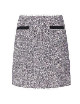 Clarie Blue Cotton Skirt by L.K.Bennett