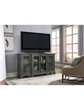 Bay Pointe Iiii Rustic Turquoise Entertainment Tv Console by Liberty