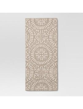 Tan Medallion Kitchen Rugs   Threshold™ by Threshold™