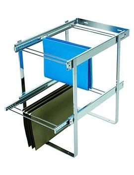 Rev A Shelf Two Tier File Drawer System Organizers, Chrome by Rev A Shelf