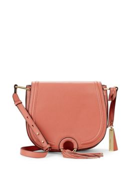 Leather Flap Bag by Vince Camuto
