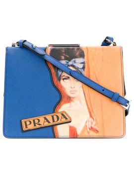 Woman Print Shoulder Bag by Prada