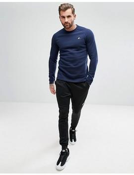 Nike Modern Crew Sweatshirt In Navy 885970 451 by Nike
