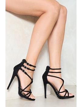Show 'em The Ropes Strappy Heel by Nasty Gal