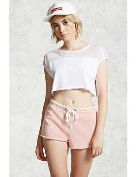 Faded Wash Shorts by Forever 21