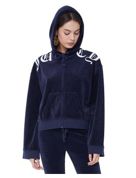 Velour Juicy Wildstyle Jacket by Juicy Couture