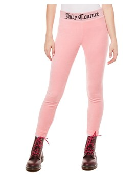 Juicy Jacquard Stretch Velour Legging by Juicy Couture