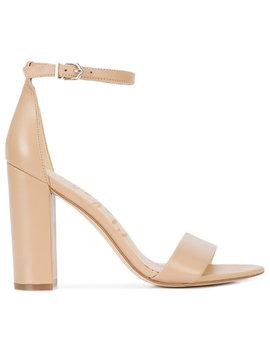 Block Heel Sandals by Sam Edelman