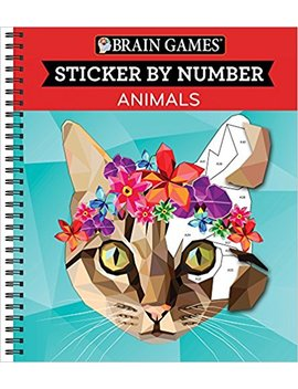Brain Games® Sticker By Number: Animals by Amazon