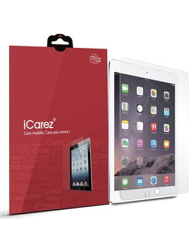 I Carez Anti Glare/Anti Fingerprint Screen Protector For New I Pad 9.7 Inch (2017) /I Pad Pro 9.7 Inch / I Pad Air 2 / I Pad Air (2 Pack) Matte   Retail Packaging by I Carez