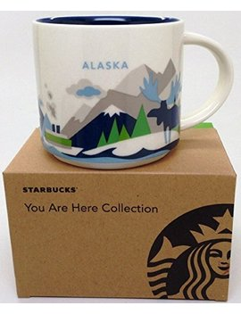 Alaska Starbucks You Are Here Collectors Mug 14 Ounce by Starbucks