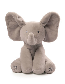 Flappy The Elephant Animated Plush, Gray by Gund
