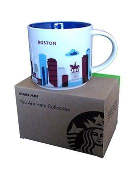 Starbucks Coffee Mug, You Are Here Collection, Boston, 14 Oz by Starbucks