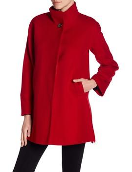 Modern Wool Coat by Fleurette