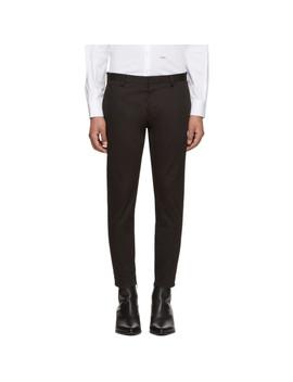 Black Skinny Dan Trousers by Dsquared2