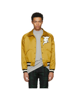 Yellow Satin Coaches Jacket by Fear Of God