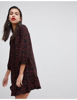 Whistles Print Pintuck Dress by Whistles