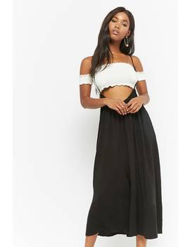 Cami Wide Leg Overalls by Forever 21