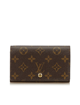 Pre Owned: Monogram Wallet by Louis Vuitton