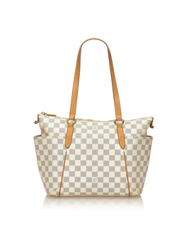 Pre Owned: Damier Azur Totally Pm by Louis Vuitton