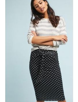 Polka Pencil Skirt by Bailey 44