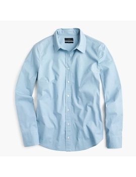 Slim Perfect Shirt In Stretch Cotton by J.Crew