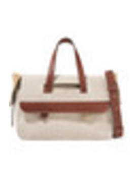 Tool Leather Trimmed Canvas Shoulder Bag by Jw Anderson