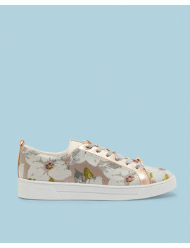Chatsworth Bloom Jacquard Sneakers by Ted Baker
