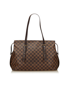 Pre Owned: Damier Ebene Chelsea by Louis Vuitton