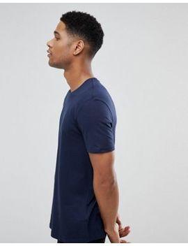 Burton Menswear Crew Neck T Shirt In Navy by Burton Menswear London