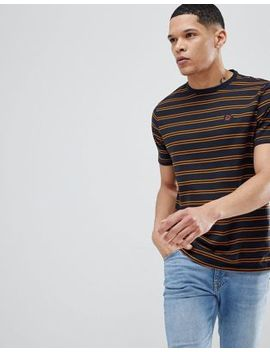 river-island-stripe-t-shirt-with-rose-embroidery-in-navy by river-island
