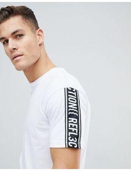 Jack & Jones Core Boxy Fit T Shirt With Sleeve Slogan by Jack & Jones