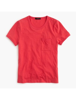 Double Edged Pocket T Shirt by J.Crew