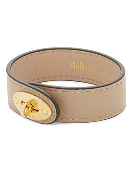 Bayswater Leather Bracelet by Mulberry