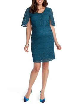 Lainey Lace Maternity Sheath Dress by Rosie Pope