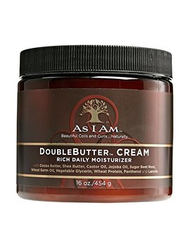 As I Am Double Butter Rich Daily Moisturizer, 16 Ounce by I Am