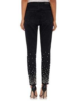 Thedrop@Barneys: Karolina Embellished Skinny Jeans by Grlfrnd
