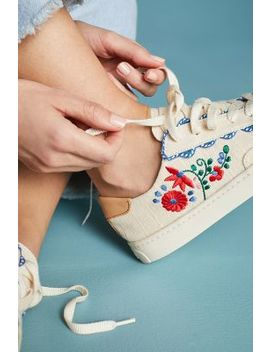Soludos Ibiza Embroidered Sneakers by Soludos
