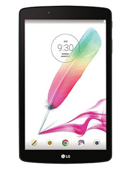 Lg G Pad F 8.0 16 Gb (2nd Gen) Gsm (Unlocked By At&T) + Wi Fi Android Tablet Pc W/ 8 Inch Display & Built In Stylus Pen   Silver (Model V495) by Lg