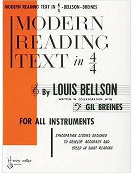 Modern Reading Text In 4/4 For All Instruments by Amazon